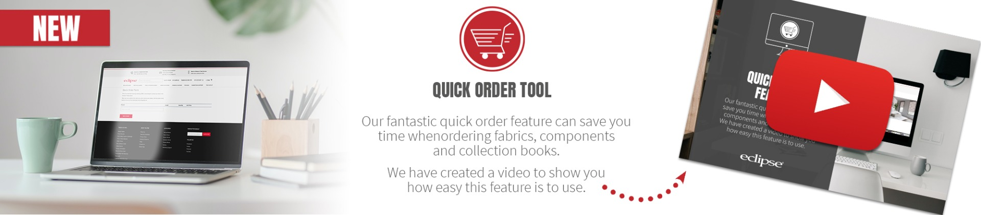 Quick Order Tool Homepage Banner